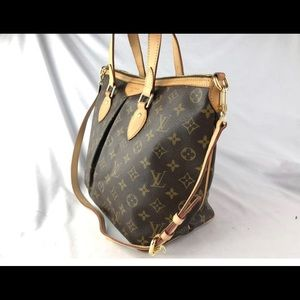 Palermo PM MONOGRAM LV Bag/ With Cross body strap